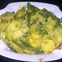 insalata di patate e fagiolini Recipe