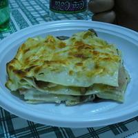 Lasagne con funghi, provola e speck Recipe