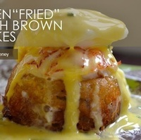 "Individual Oven ""Fried"" Hash Browns Recipe"