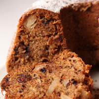 Gugelhopf with apples, dried rosehip and chocolate nuggets Recipe
