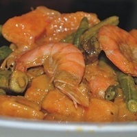 Ginataang Hipon (Prawns with Coconut Milk) Recipe