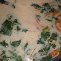 Linubihang Pasayan (Shrimp cooked in coconut milk) Recipe