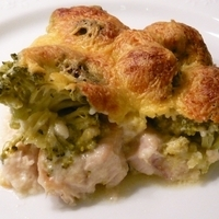 CHICKEN BREAST AND BROCCOLI GRATIN Recipe