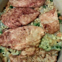 Ancho Chili Rubbed Chicken with Roasted Corn and Sweet Pepper Relish Recipe