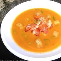 Spicy & Smokey Tomato Lobster Soup Recipe