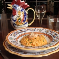 Risotto alla crema di scampi (Risotto with Shrimp Cream) Recipe