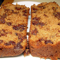 Belle's Chocolate Chip Banana Bread :) Recipe