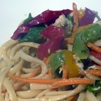 Spicy Asian noodle salad Recipe