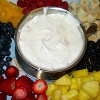 Fresh Fruit with Marshmallow Sauce (A Nut Tree Vintage Recipe) Recipe