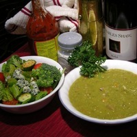 Split Pea Soup with Smoked Ham Hocks Recipe