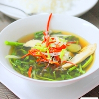 Chinese Chicken Soup With Watercress Recipe