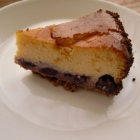 Baked Blueberry Cheese Cake Recipe