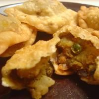 Crispy Vegetable Samosa!!! Recipe