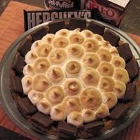 S'More Double Chocolate Pie Recipe