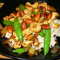 Chicken Almond (from The Nut Tree Restaurant) Recipe