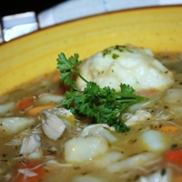 Chicken Fricot ( Acadian style ) Recipe
