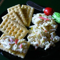 Deli-Style Imitation Crab Seafood Salad Recipe