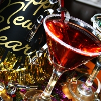 New Year Cranberry Martini Recipe