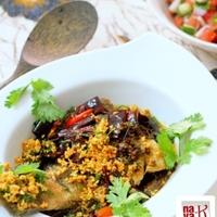 Fried Fish In Garlic Chili Gravy Recipe