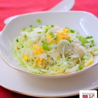 Fish Ball & Cabbage Fried Rice Recipe