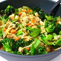 Chicken and Veggies Stir Fry, Low Calorie and Super Yummy Recipe