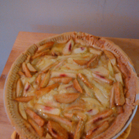 Joy of Cooking's Peach Pie I. Recipe