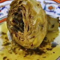 Carciofi alla romana (Roman-style Artichokes) Recipe