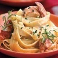 Lobster Pasta with Herb Cream Sauce (Pasta con Astice in Crema di Erbe) Recipe