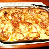 Potatoes Gratin w/dill & gruyere Recipe