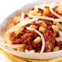 Hash Corned Beef with Potatoes and Onions Recipe