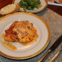 Chicken Parmigiana - Hold the bread crumbs! Recipe