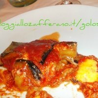Melanzane al forno con ricotta sarda ,parmigiano,e provola Recipe