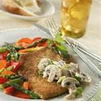 Pork Scaloppine With Mushroom Sauce Recipe
