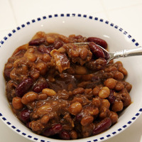Three bean hot dish Recipe