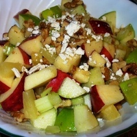 Christmas Apple Salad Recipe