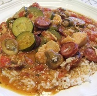 Chicken & Sausage Jambalaya Recipe