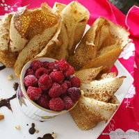 Ricotta Nut Chocolate filled CREPES Recipe