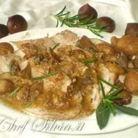 Arista di maiale con castagne Recipe