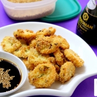 Crispy Fried Japanese Tofu With Soya Sesame Dip Recipe