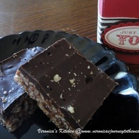 Rice Bubbles - Mars Bar Crunchy Slice Recipe