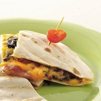 Chile, Cheese And Bacon Quesadillas Recipe