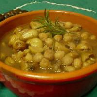 Zuppa di Ceci e Castagne Recipe