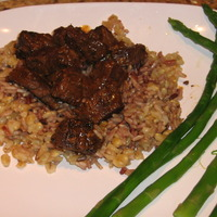 Beef with Barley and Wild Rice Recipe