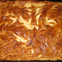 Пирог с творогом Recipe