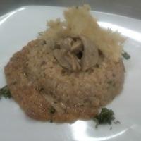 cupoletta di riso carnaroli con zucca e funghi porcini Recipe