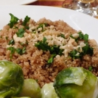 Quinoa Pilaf with Pine Nuts Recipe