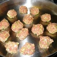 Zucchini Meatballs in Cream Sauce Recipe