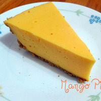 Eggless Mango Pie(No bake) Recipe