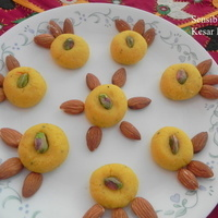Kesar Peda - Saffron Infused Milk Sweet Recipe