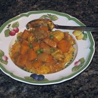 Chicken, Sweet Potato and Coconut Curry Recipe